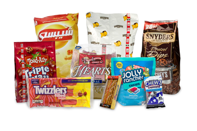 sealstrip snacks and candy packaging